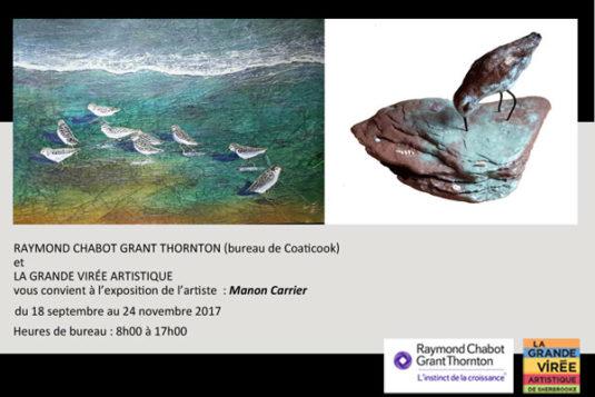Invitation Manon Carrier chez RCGT