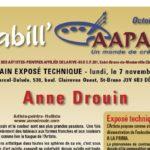 Babill'AAPARS octobre 2011