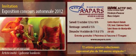 APARS Expo Concours automnale 2012