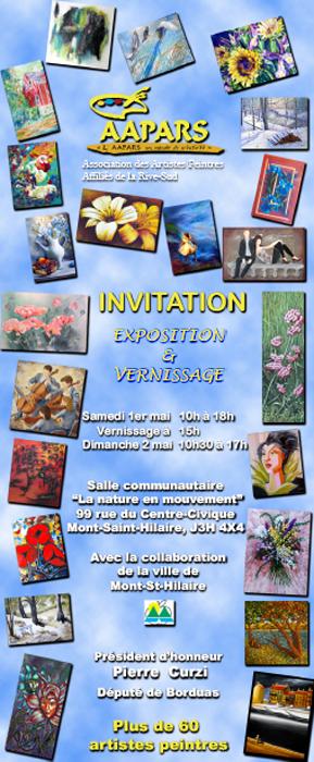 Carton Exposition Printanière 2010