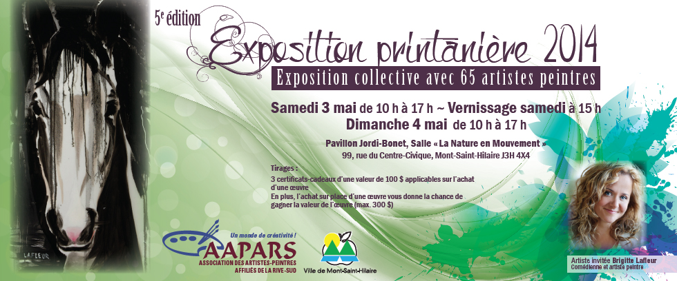 Exposition Printaniere Association Des Artistes Peintres Affilies
