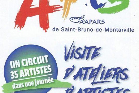 La 9e édition du Circuit des Arts de Saint-Bruno-de-Montarville, sous le signe de la coopération les 17 et 18 septembre 2016.
