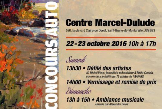 Liste des 72 artistes peintres  de la 13e Exposition concours automnale de L'AAPARS