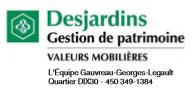 L'Équipe Gauvreau-Georges-Legault de Valeurs mobilières Desjardins à la présidence d'honneur de l'Exposition Printanière de l'AAPARS