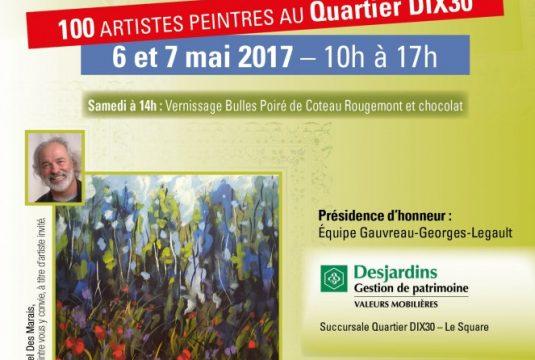L'Exposition Printanière de l'AAPARS, liste des artistes exposants