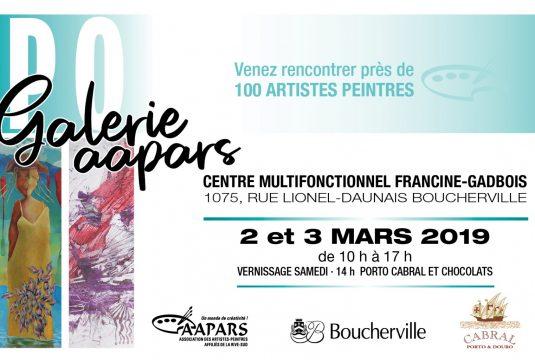 L'expo Galerie AAPARS, liste des artistes exposants