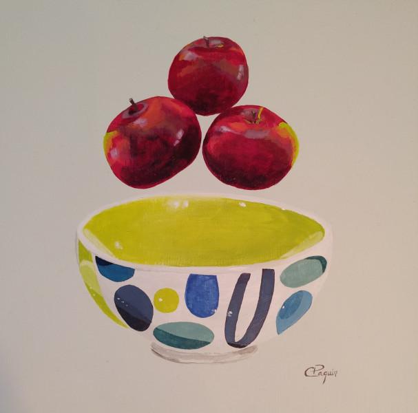Pommes et bol Whittard