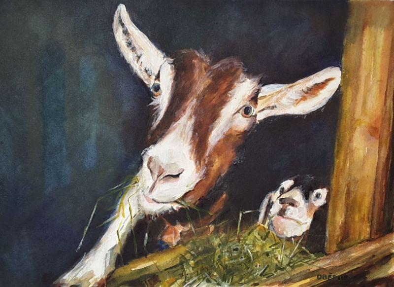 Les p\'tites chèvres