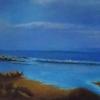 au bord de la mer(11x14)