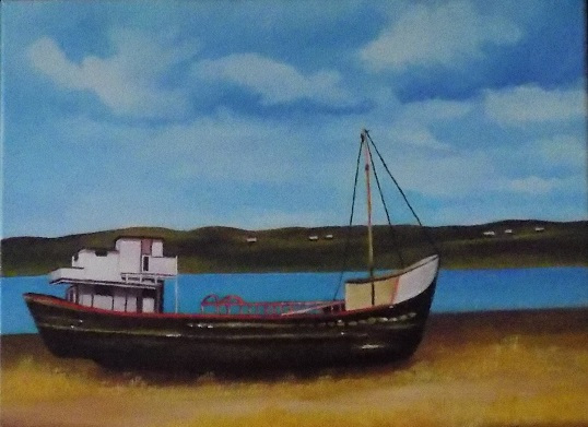 bateau a iles aux coudres(11x14)