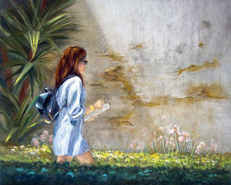 passante_c3a0_-la_robe_bleue_pastel_sec_16x20po
