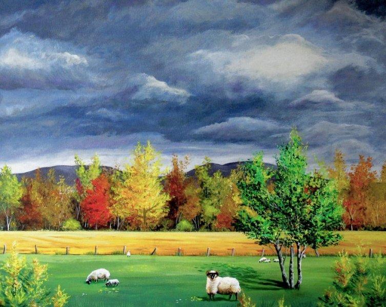 Ciel d\'automne