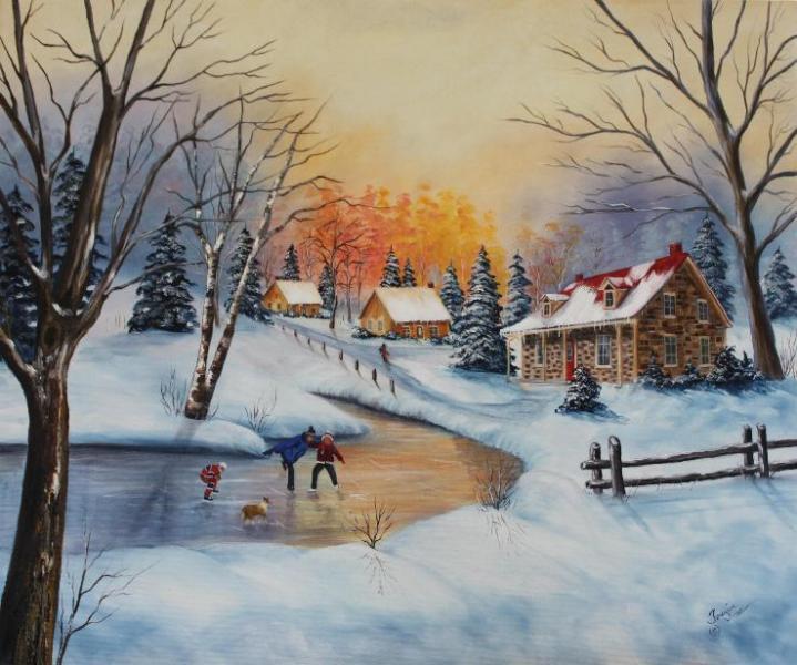 L\'hiver à la campagne