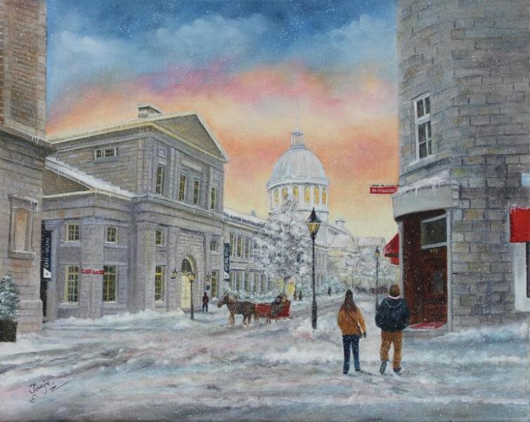 L\'hiver à Montréal