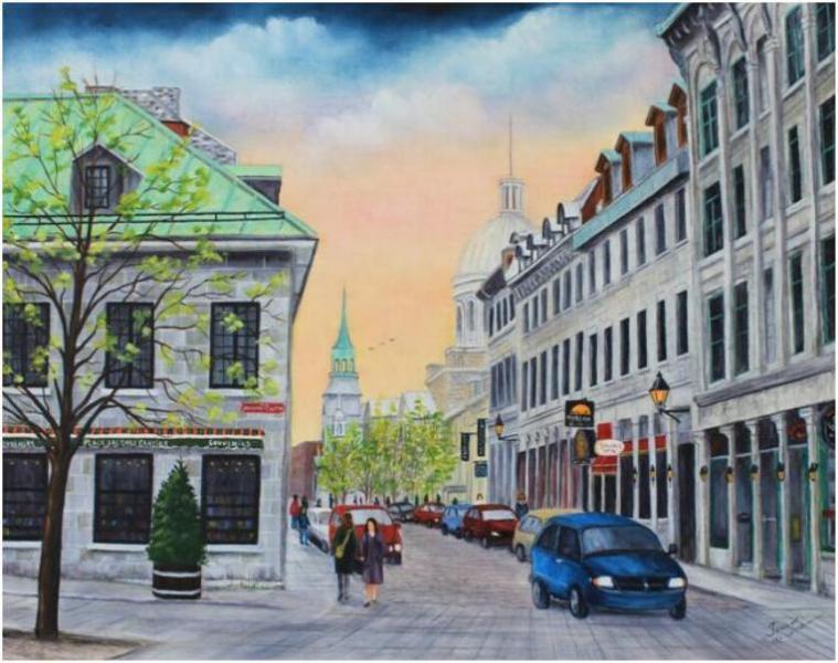 Vieux Montréal rue St-Paul