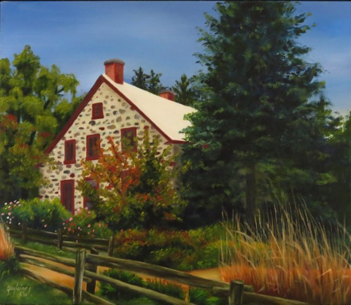Le moulin de Pointe-du-Lac