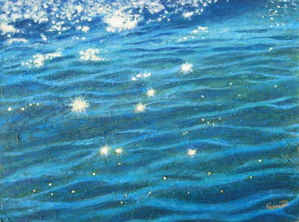 Luminosité © manon Carrier, techniques mixtes,18 x 24 po