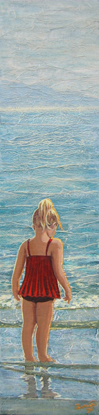 Les pieds dans l\'eau © Manon Carrier