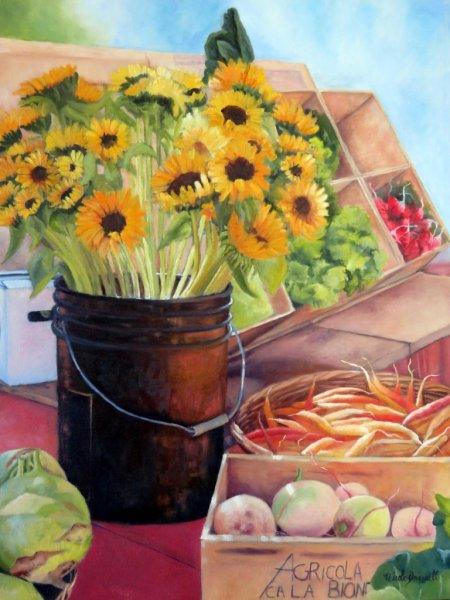 legumes-et-bouquet-de-tournesols