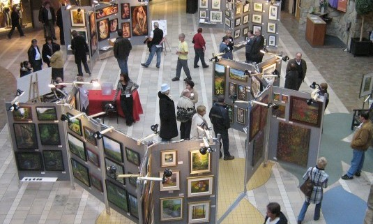 L'exposition des Promenades St-Bruno 2010