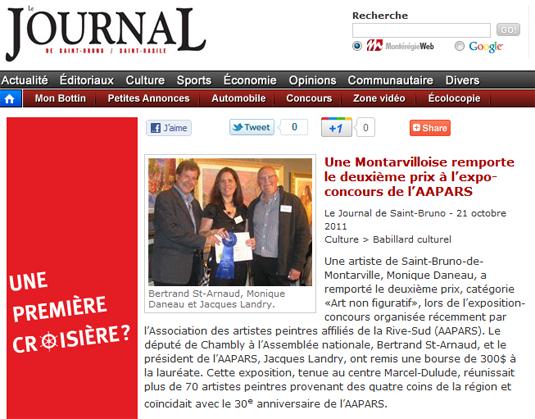 Journal de Saint-Bruno
