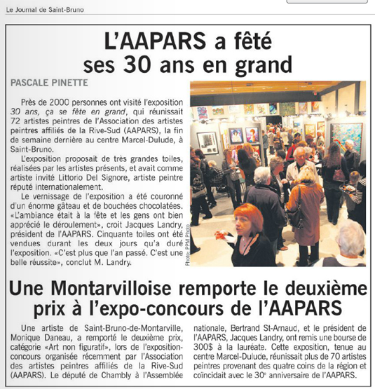 Journal de Saint-Bruno