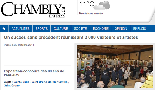 Journal Web Chambly Express.ca