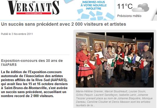Journal Les Versants