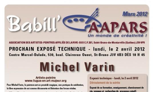 Babill'AAPARS mars 2012