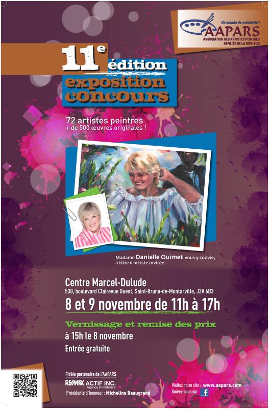 Affiche expo-concours Automne 2014