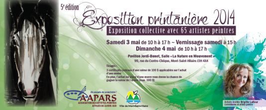 Carton Exposition Printanière 2014