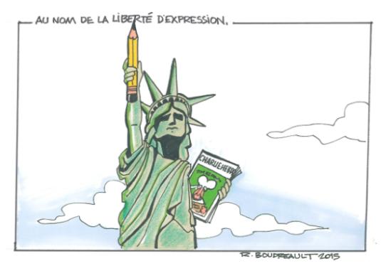 R. Boudreault caricature