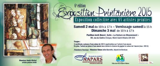 Carton Exposition Printanière 2015