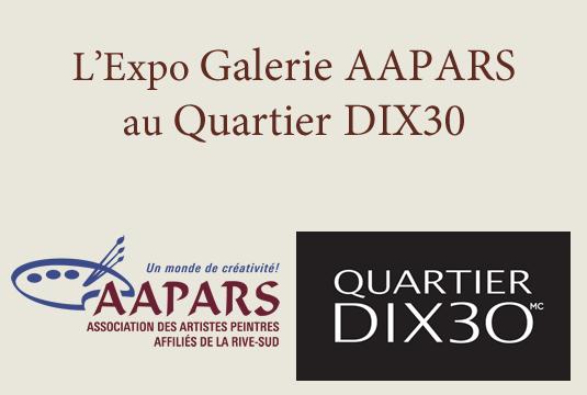 Expo Galerie AAPARS