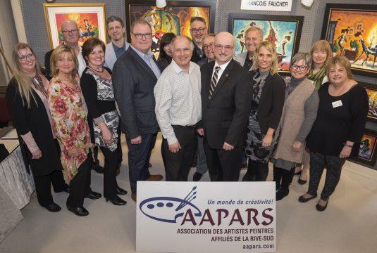 L'Expo Galerie AAPARS à La Prairie un très beau succès!