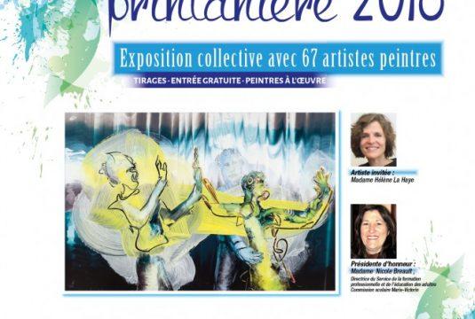 Exposition Printanière de l'AAPARS,  Pavillon Jordi-Bonet, Mont-Saint-Hilaire, 5 et 6 mai 2018