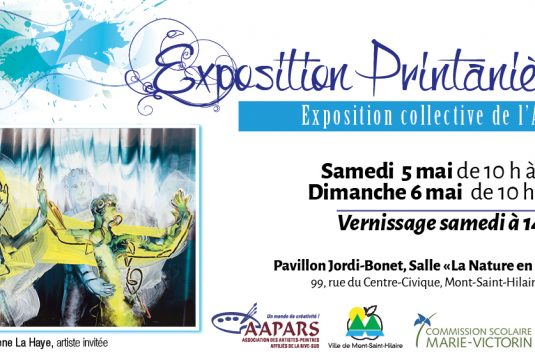 Exposition printanière: liste des artistes exposants