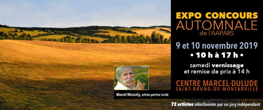 Carton d'invitation Expo-Concours automnal 2019