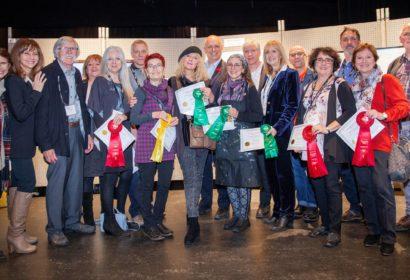 Photo des gagnants avec Invités d'Honneur