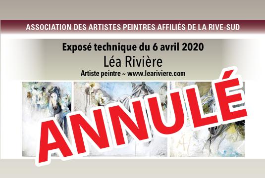 Exposé technique Léa Rivière